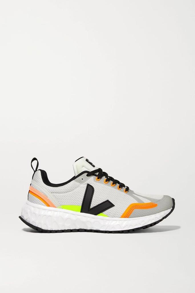 Veja Condor Rubber-Trimmed Mesh Sneakers