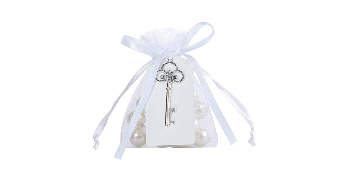 Rustic Vintage Key Bottle Opener with Card Tag and Sheer