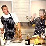 """Curtis Stone's """"Up in Flames"""" Bananas Flambé"""