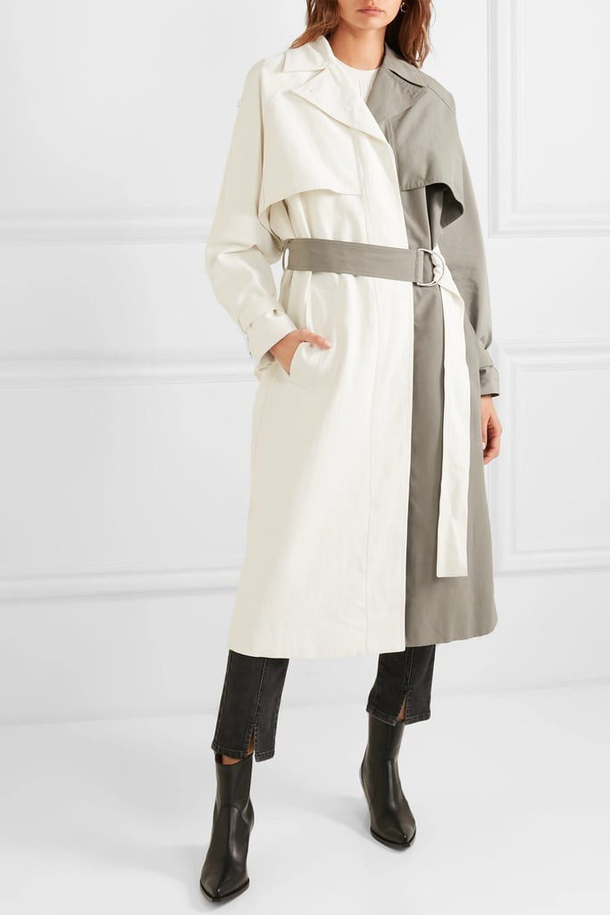 Givenchy Two-Tone Trench Coat