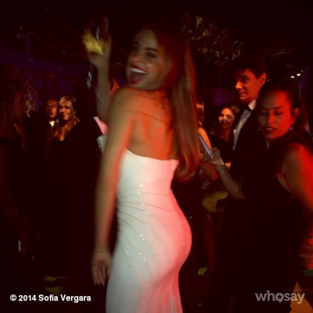 Sofia Vergara tore it up at an afterparty.