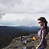 Taking coffee gear on a hike is totally normal, right?