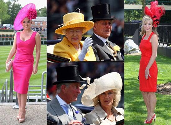 16/6/2009 Celebrities at Royal Ascot 2009