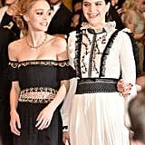 Lily-Rose Depp and Soko
