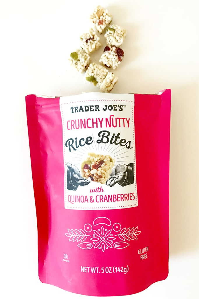 Crunchy Nutty Rice Bites With Quinoa and Cranberries ($3)
