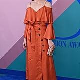 Olivia Palermo Makes a $148 Dress Look Like Gold at the CFDA Awards