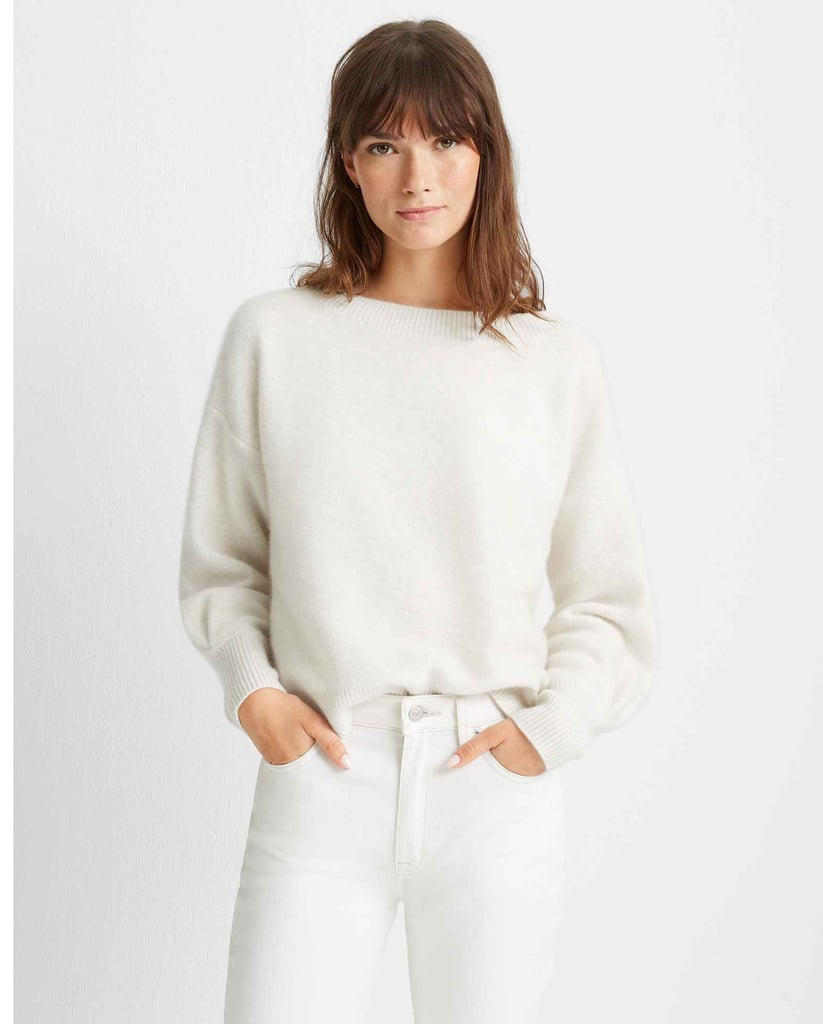 Club Monaco Boiled Cashmere Boatneck
