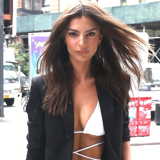Emily Ratajkowski Wore an Inamorata Bikini Top at NYFW