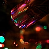 Go For Drinks at a Bar Decorated With Christmas Lights