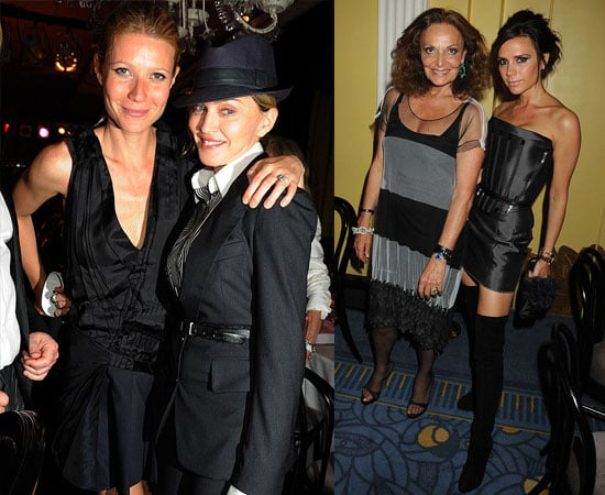Pictures of Victoria Beckham, Gwyneth Paltrow, Madonna at DvF