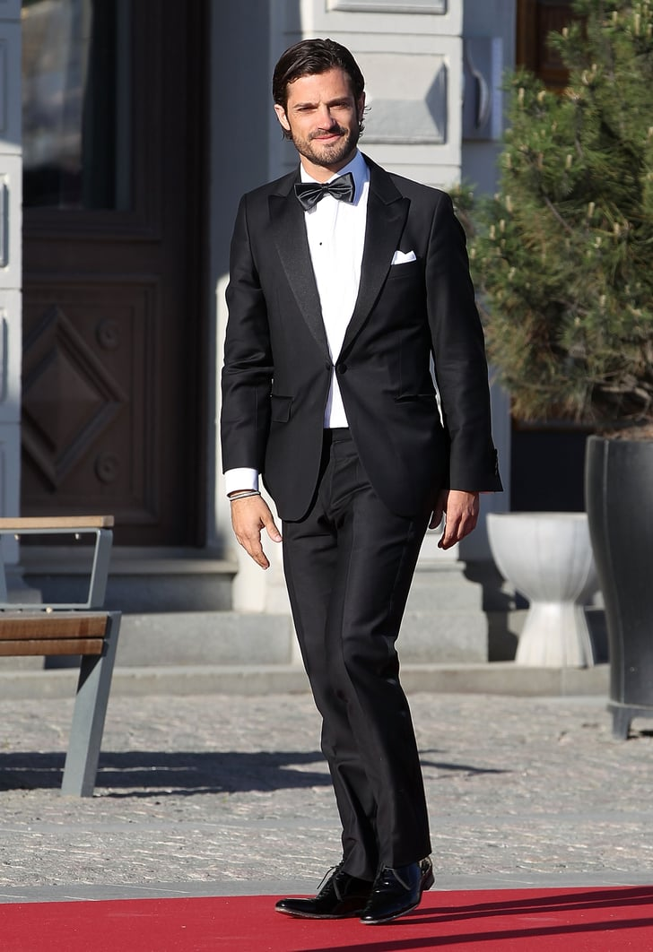 Prince Carl Philip Wore Black Tie In Sweden In June 2013