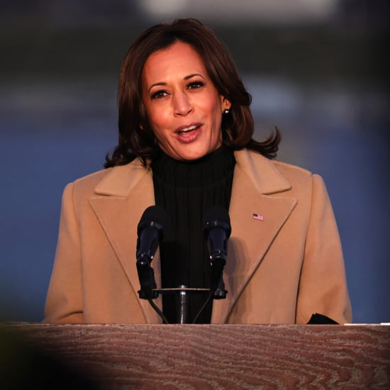 The Meaning Behind Kamala Harris's Coat at COVID-19 Memorial