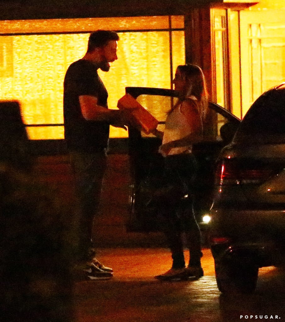 """Ben Affleck was spotted chatting it up with his children's nanny, Christine Ouzounian, at his rented LA home on July 17. What would normally be a totally innocuous and appropriate meeting is a bit problematic, considering that just a week later, reports surfaced that the two had been carrying on an affair. Ben and Christine — a 28-year-old California native who began caring for Violet, Seraphina, and Samuel in the Spring — looked smiley and happy while talking in the driveway. Despite their closeness, sources close to Ben have continued to deny a relationship between the two, saying that he is """"friendly, but it's not always meant to be flirty,"""" and adding, """"This was a very close relationship with someone who was taking care of the most important people in his life."""" Ben and Jennifer Garner announced their plans to divorce in July, and it wasn't long after before rumors of the Gone Girl star's infidelity spread. Since their split, the couple has been spending time in Atlanta with their kids, where Jennifer is filming Miracles From Heaven and keeping a smile on her face. Ben did come back to the West Coast to attend Comic-Con and the ESPY Awards, and he kept tongues wagging when he was photographed both with and without his wedding ring."""