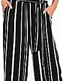 Wallis Women's Stripe Faux Wrap Crop Jumpsuit