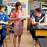 Ellie Kemper and Channing Tatum in 21 Jump Street. Photo courtesy of Sony Pictures