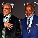 Quincy Jones and Clarence Avant