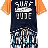 Surf Dude Rash Guard Set