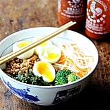Easy Vegetarian Recipe: Grain Bowl With Teriyaki Sauce, Greens, and Soft-Boiled Egg