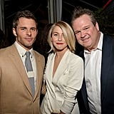 Julianne Hough was surrounded by James Marsden and Eric Stonestreet at GQ's afterparty.