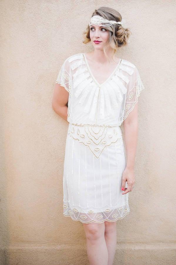 Gatsbylady London Angel Sleeves Flapper Dress (£85)