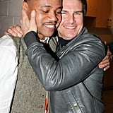 Tom Cruise hugged Cuba Gooding Jr. after visiting The Daily Show.