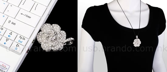 Crystal Rose USB Necklace: Love It or Leave It?
