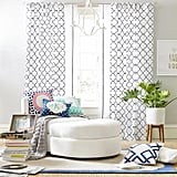 Lucky Clover Embroidered Blackout Curtain