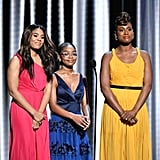 Pictured: Regina Hall, Marsai Martin, and Issa Rae