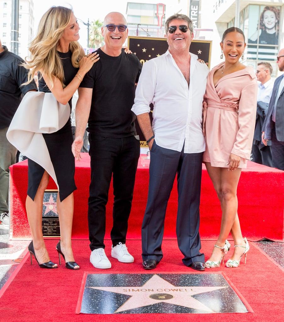 Simon Cowell S Hollywood Star Ceremony August 2018 Popsugar Celebrity