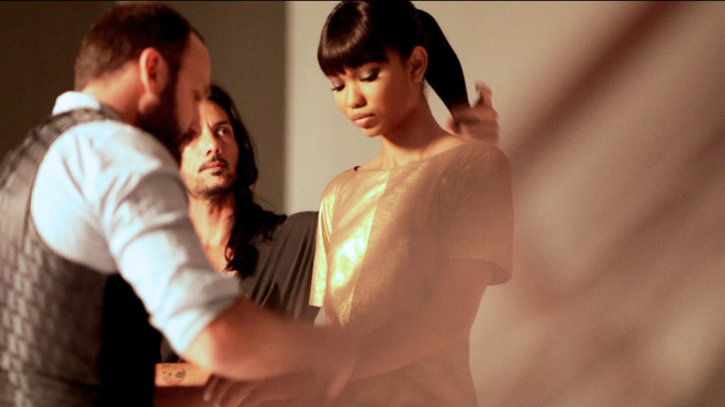 Behind the Scenes With Chanel Iman