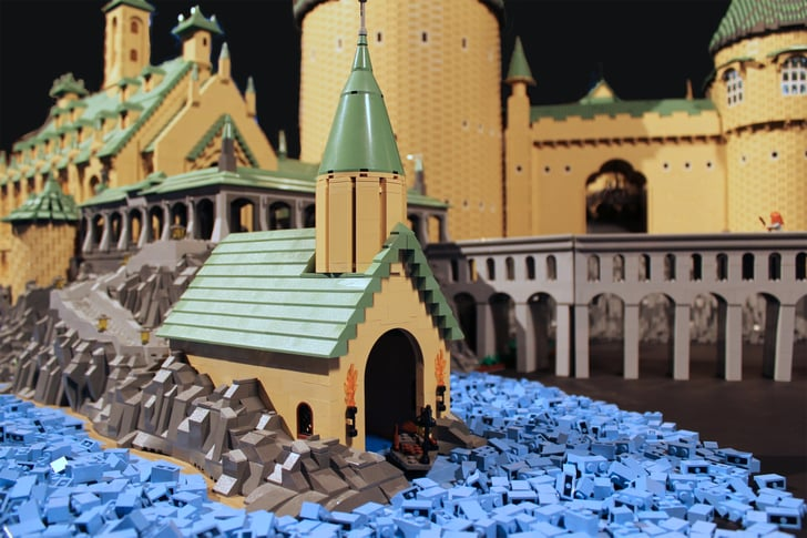 Great Bridge Auto >> Boathouse by the Great Lake | A Supermum Created This 400,000-Piece Hogwarts Castle Out of LEGOs ...