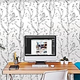 Wall Pops Gray Woods Peel and Stick Wallpaper