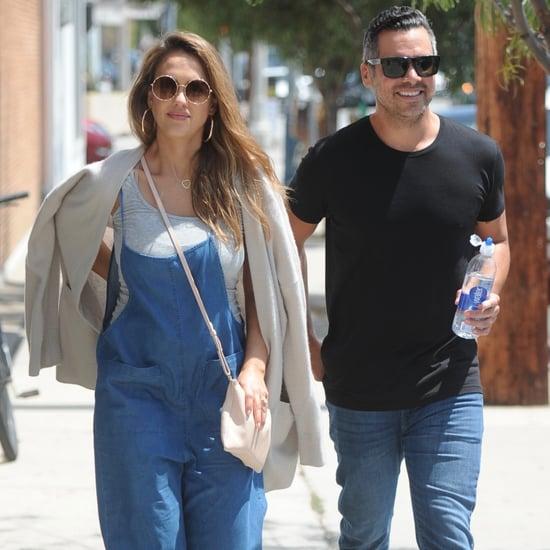 Jessica Alba and Cash Warren Out in LA August 2017