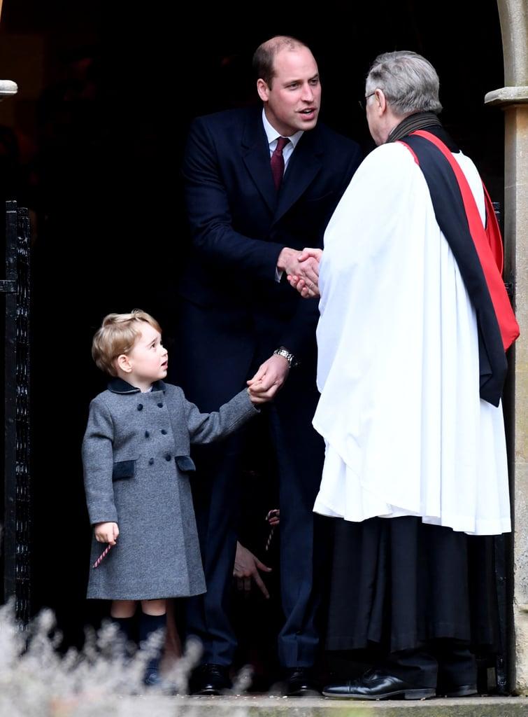 The British Royal Family at Christmas Services 2016