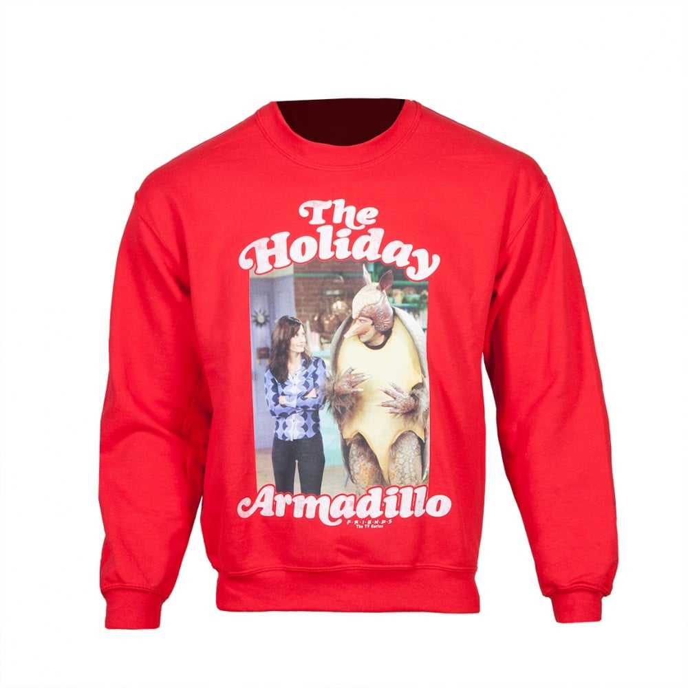 Friends Holiday Armadillo Sweatshirt ($50) | Pop Culture Gifts 2016 ...