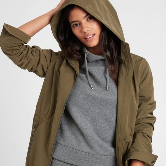 Best Rain Coats From Banana Republic