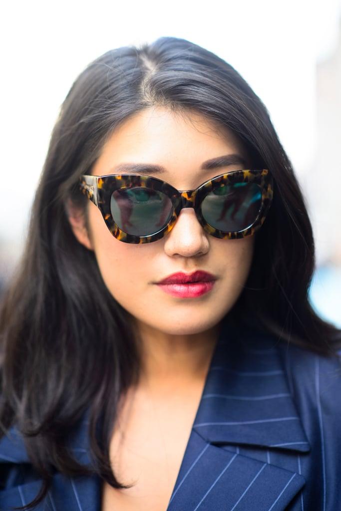 Street Style Hair & Makeup | London Fashion Week Spring 2015