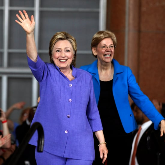 Hillary Clinton Responds to Elizabeth Warren Being Silenced