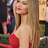 Sophia Vergara's Caramel Blond Hair Colour