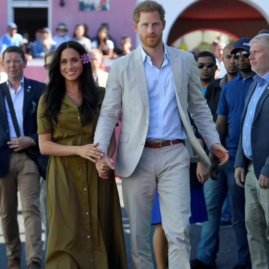 Meghan Markle Looks Casual in a Staud Maxi Dress