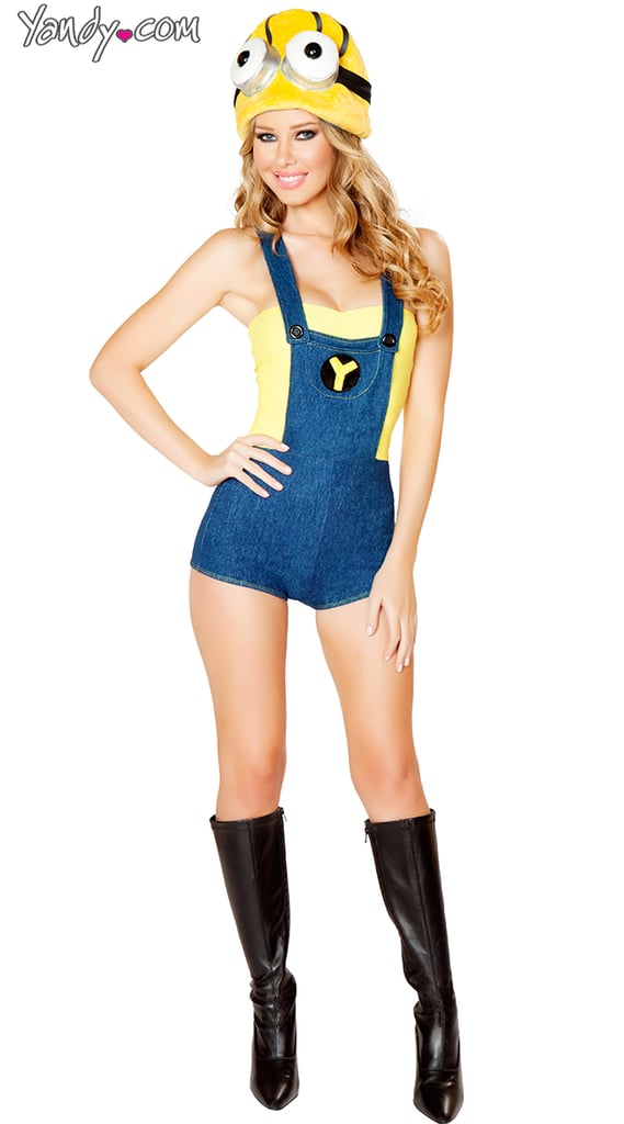 minion sexy halloween costumes gone wrong popsugar