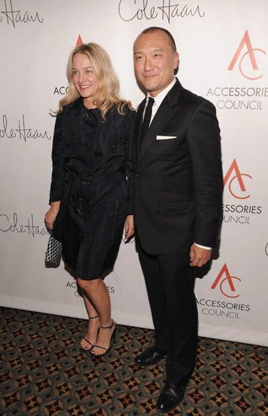 Elle's Anne Slowey and Joe Zee.