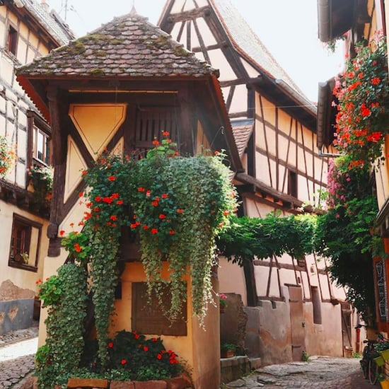 Eguisheim Beauty and the Beast Town in France Pictures