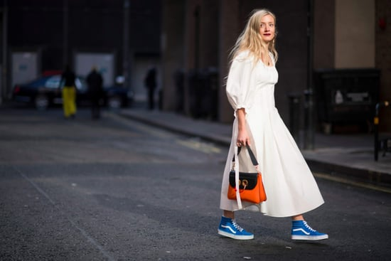 a6deae8445 How to Wear Dress and Sneakers