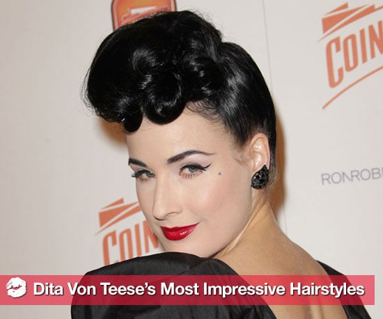 Pictures of Dita Von Teese's Hairstyles 2010-12-13 09:00:35