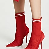 Jeffrey Campbell Starter Sock Booties