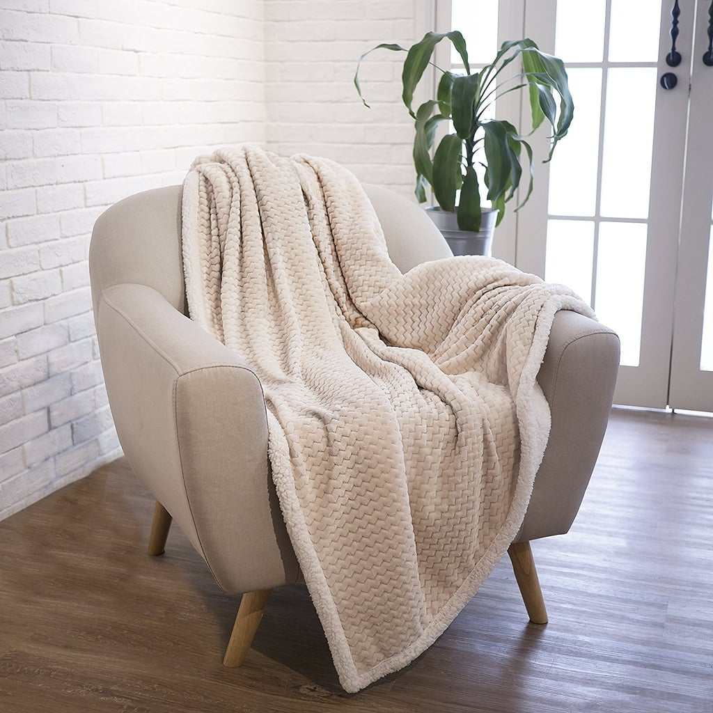 Sherpa Throw Blanket