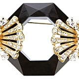 Gianfranco Ferre Vintage Faceted Gem Brooch