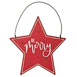 """Be Merry"" Star Christmas Ornament"