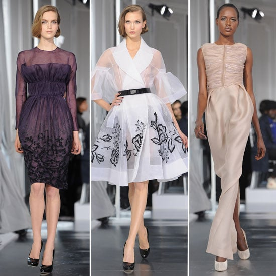 Review and Pictures of Christian Dior Haute Couture at 2012 Paris Haute Couture Fashion Week